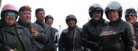 group photo from march 30 ride
