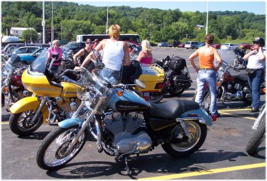 estrogen ride photo of jules's bike