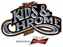 kids and chrome event logo