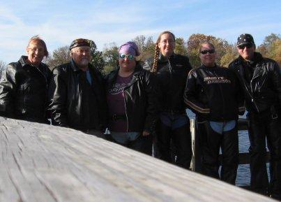 today's riding group at lake ahquabi