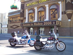 corn palace at mitchell south dakota