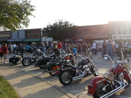 Indianola bike night 2013