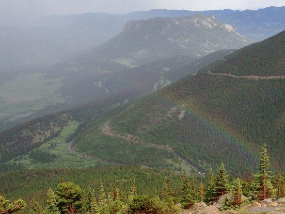 Beautiful vistas in Rocky Mountain National Park