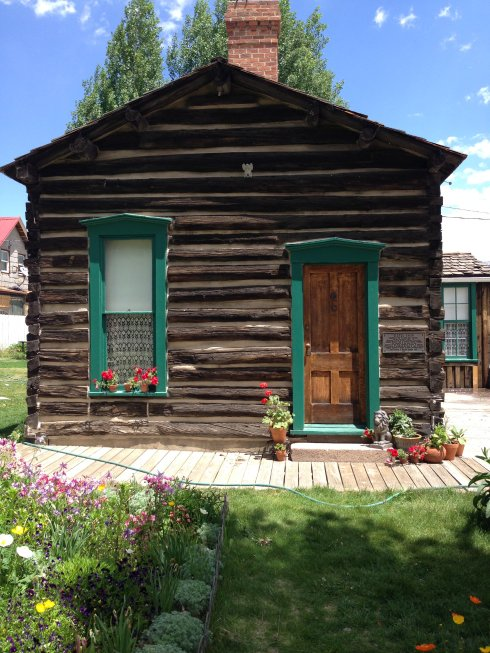 "The Dexter cabin, a Victorian-era ""man cave"" for wealthy hunters on expedition."