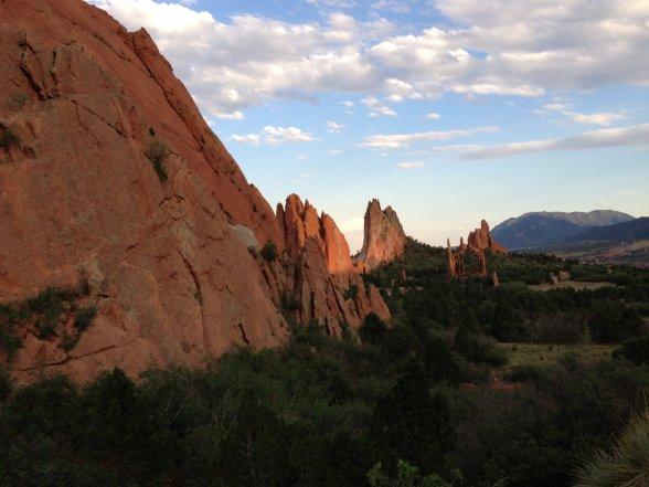 Garden of the Gods at Colorado Springs, CO
