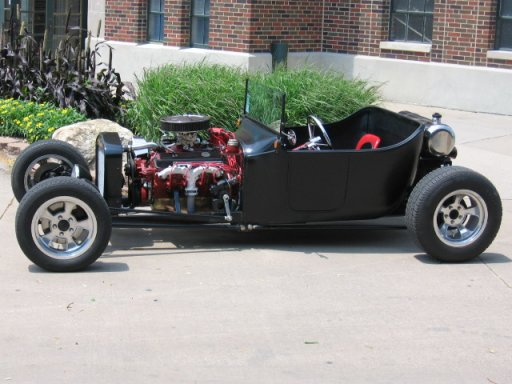 """And this is their t-bucket """"rat rod""""!"""