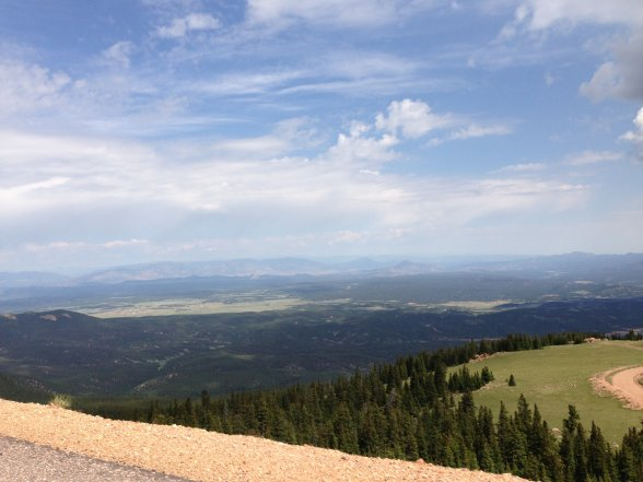 Summit view, Pike's Peak
