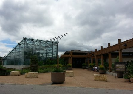 Reiman Gardens entrance