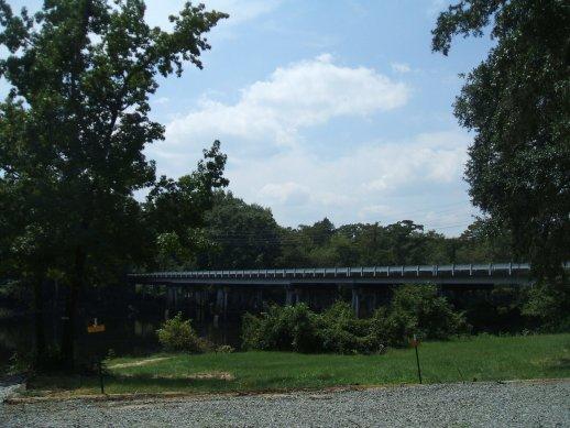 (6)Bridge across Parker's Lake, Pasc Riv WMA