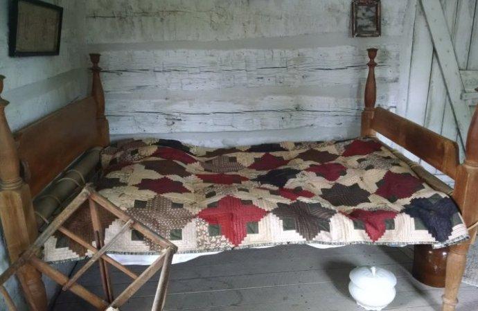 Original Nelson Pioneer Farm Cabin 1843 | Biker Chick News