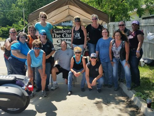 Chrome Divas Social 2017 | Biker Chick News