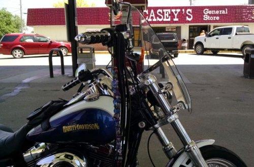 Madrid Gas Stop | Biker Chick News